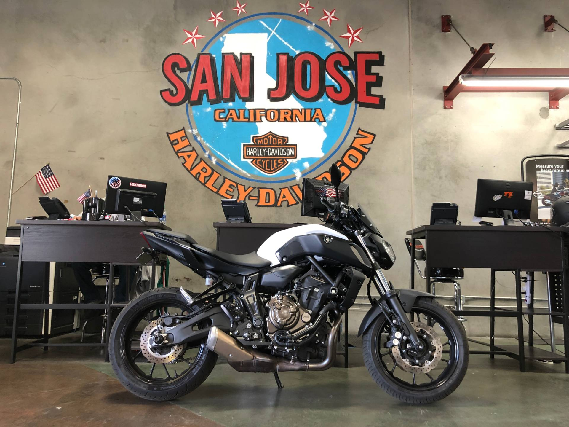 2018 Yamaha MT-07 in San Jose, California - Photo 1