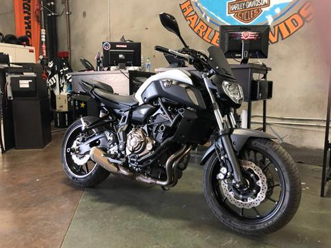 2018 Yamaha MT-07 in San Jose, California - Photo 4