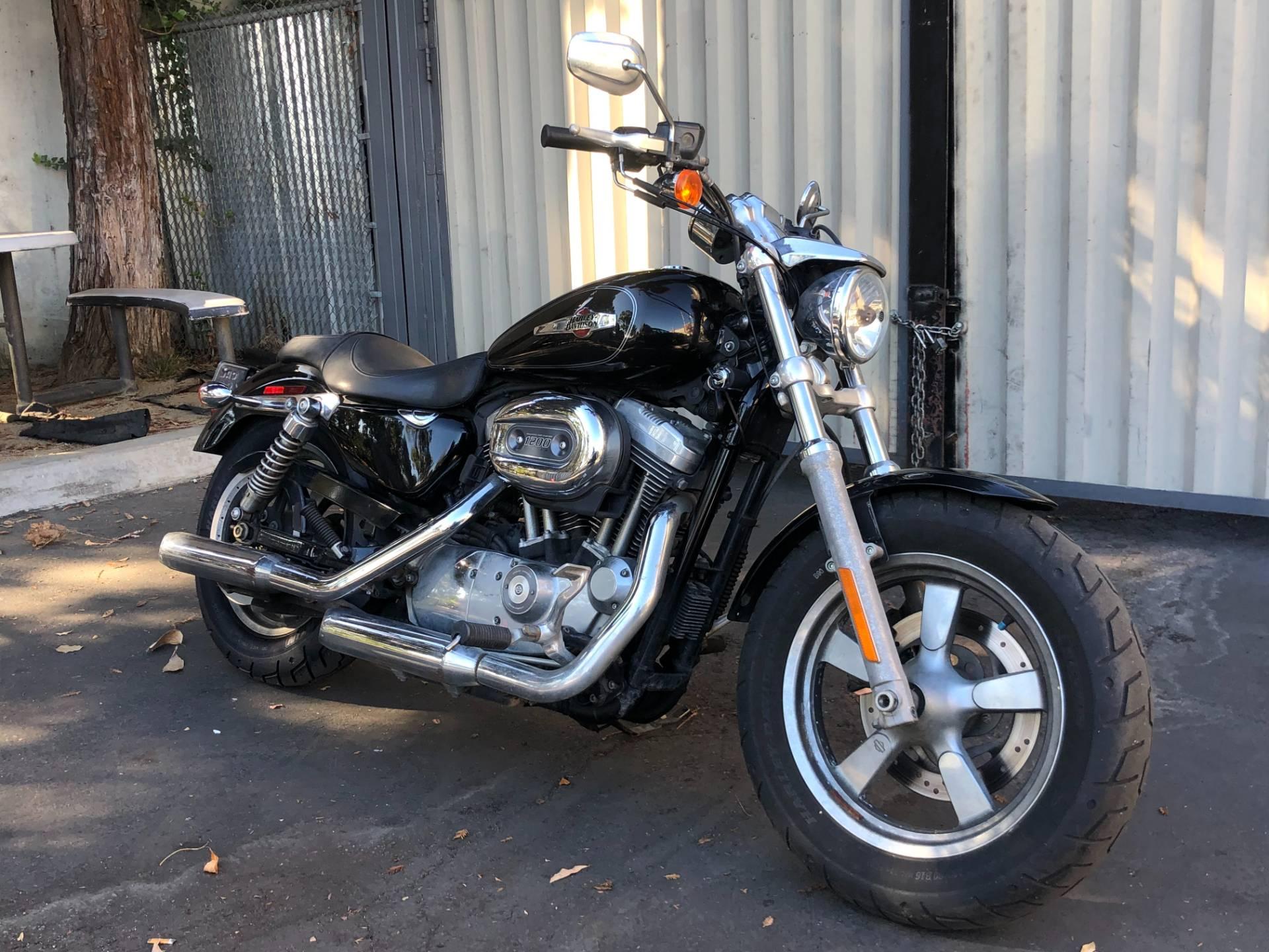 Used 2013 Harley Davidson Sportster 1200 Custom Vivid Black Motorcycles In San Jose Ca 400633