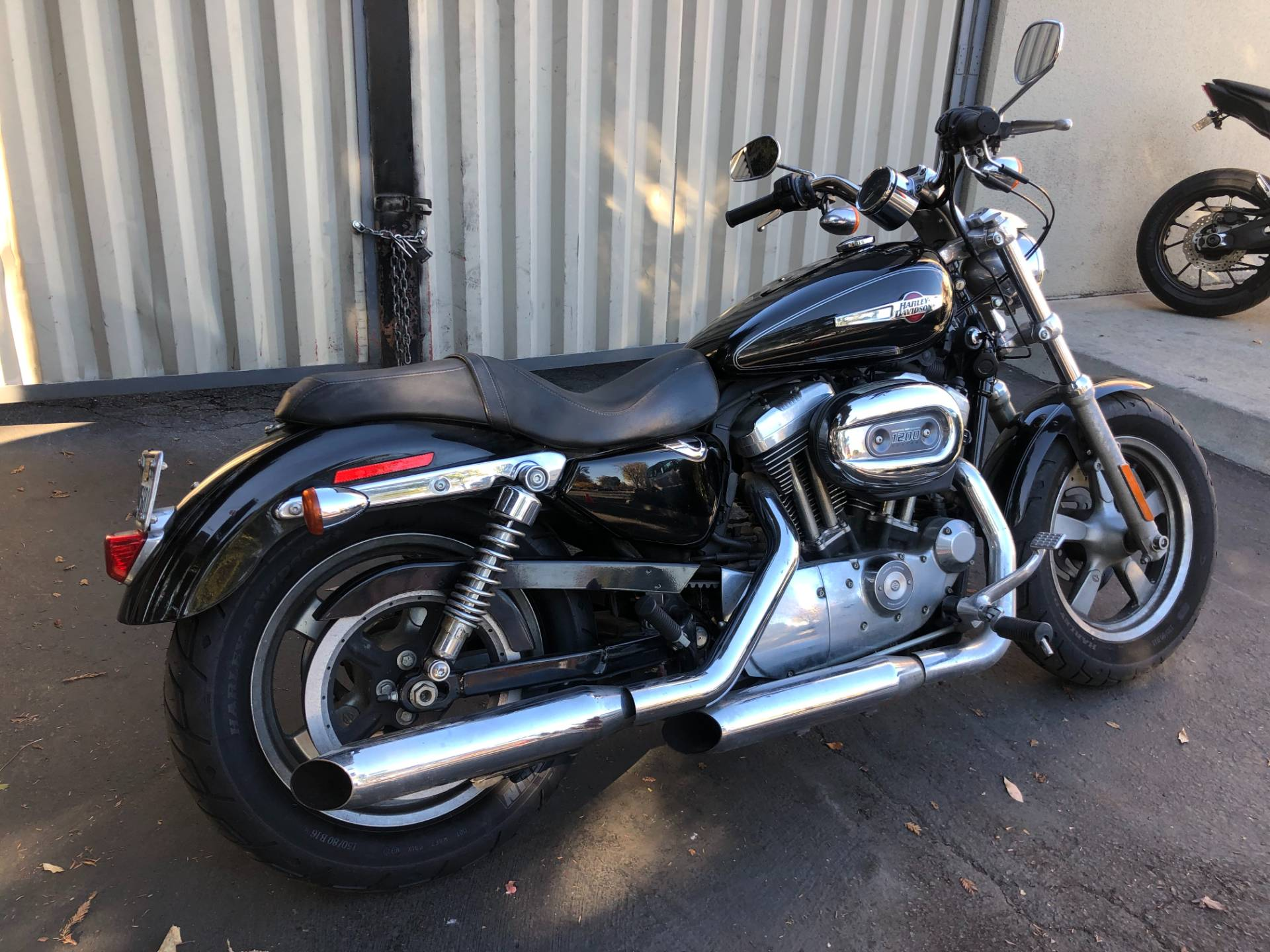 Used 2013 Harley Davidson Sportster 1200 Custom Vivid Black Motorcycles In San Jose Ca 400633