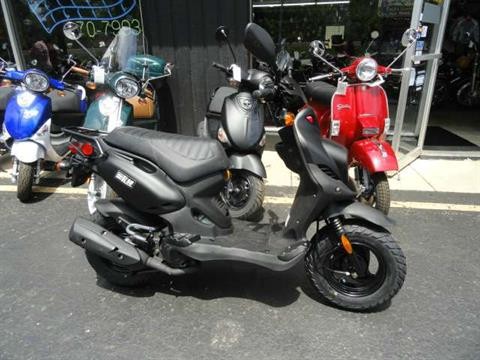 2015 Genuine Scooters Roughhouse 50 in Arlington Heights, Illinois