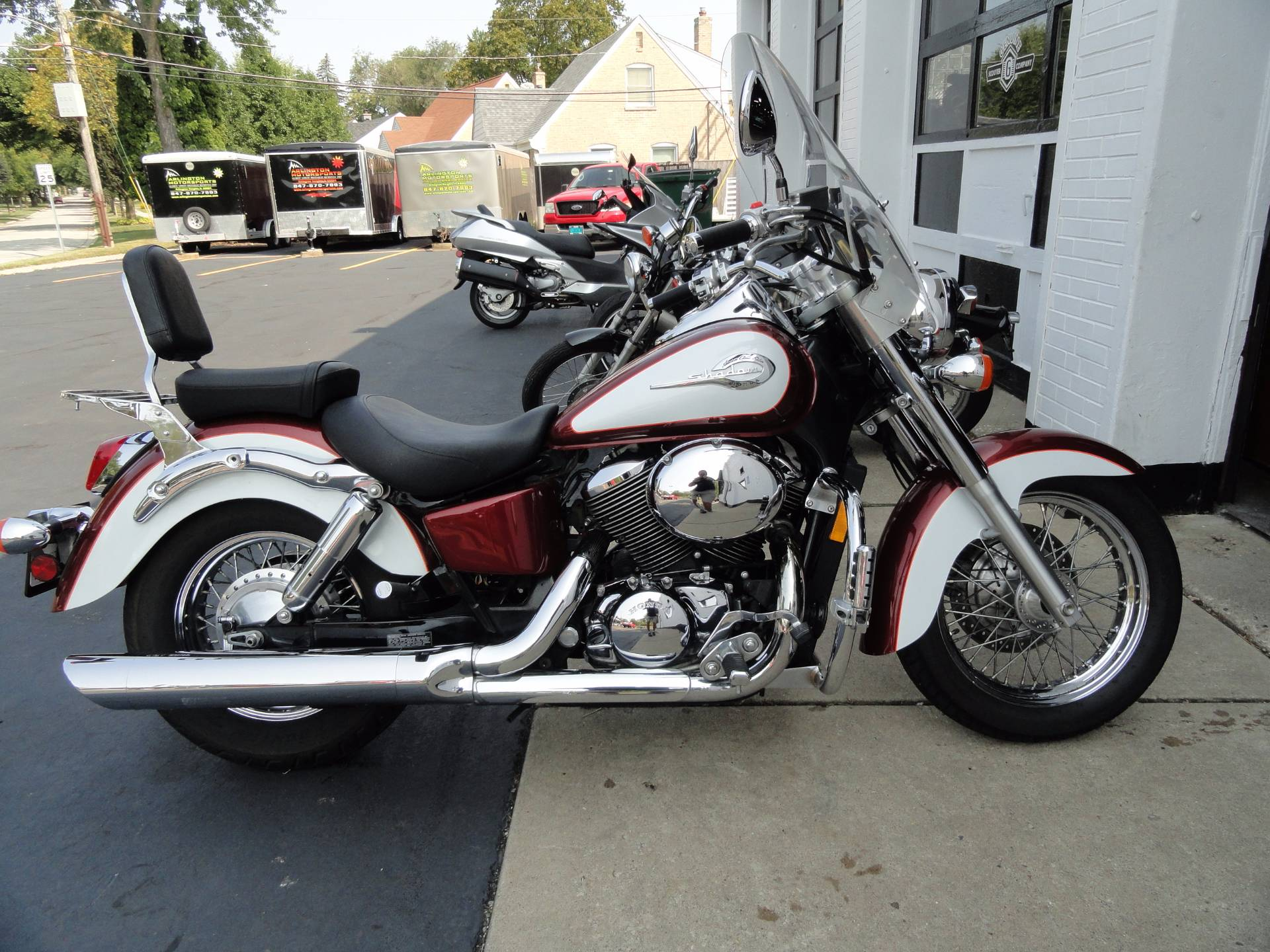 2001 Honda Shadow Ace 750 Deluxe in Arlington Heights, Illinois
