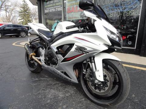 2009 Suzuki GSX-R750 in Arlington Heights, Illinois