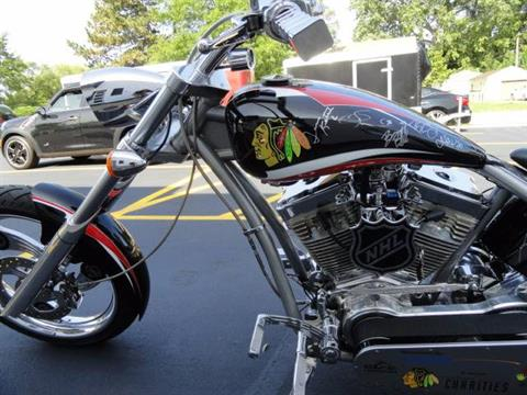 2010 Orange County Choppers Chicago BlackHawks Stanley Cup Chopper in Arlington Heights, Illinois