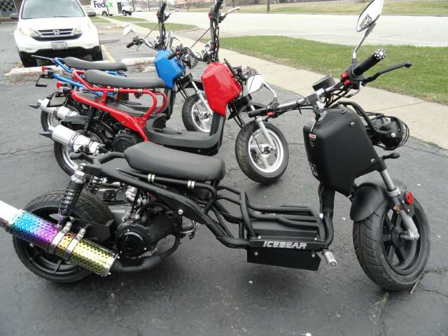 New 2016 Dazon Mad Dog 150cc Scooters In Arlington Heights