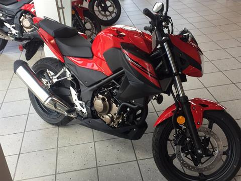2017 Honda CB300F in Troy, Ohio