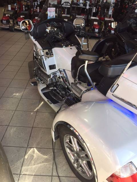 2008 Honda Gold Wing® Audio Comfort Navi ABS in Troy, Ohio