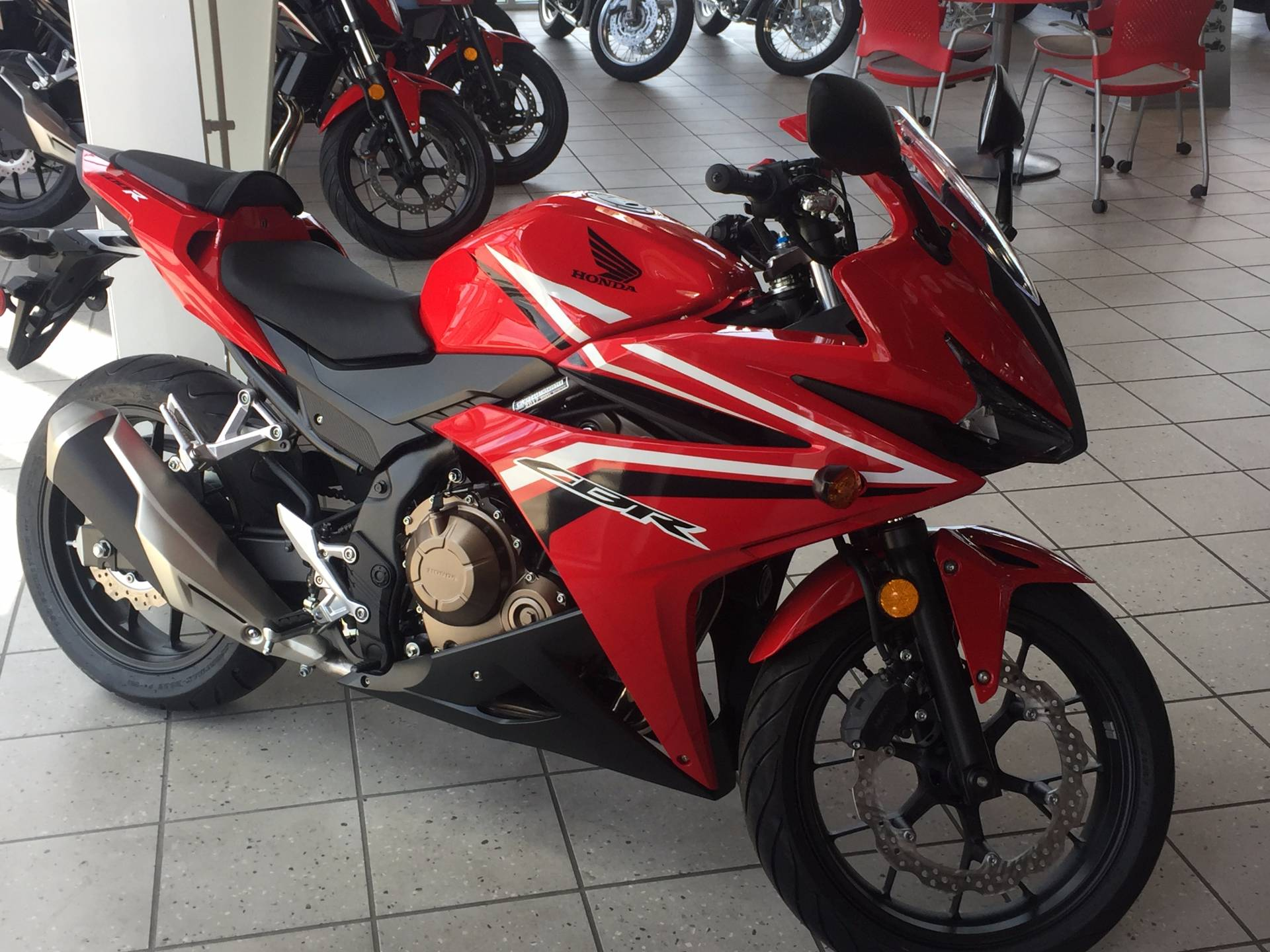 New 2017 Honda CBR500R Motorcycles in Troy OH