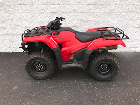 2016 Honda FourTrax Rancher 4X4 Automatic DCT in Troy, Ohio