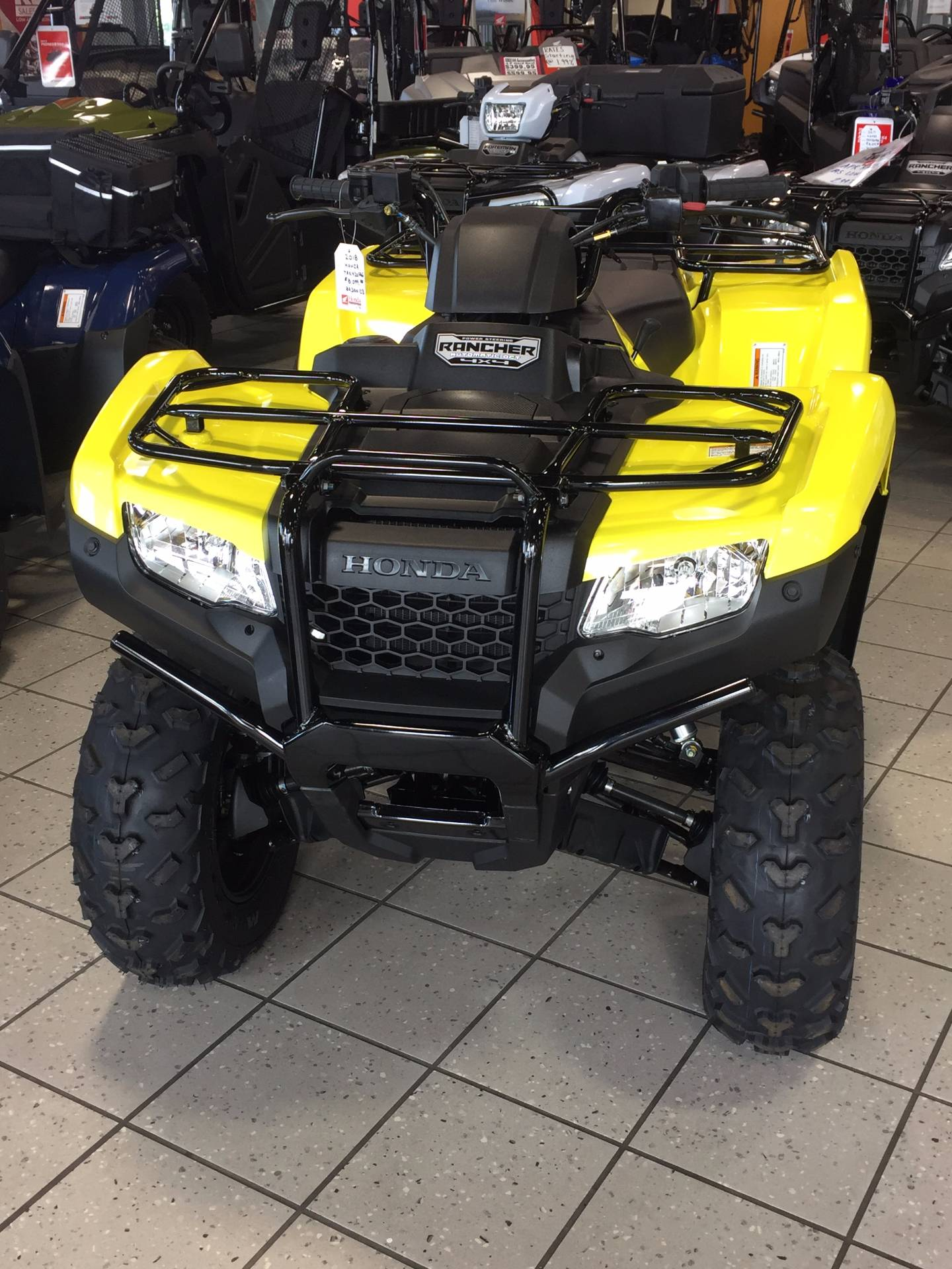 2018 Honda FourTrax Rancher 4x4 AT IRS EPS in Troy, Ohio