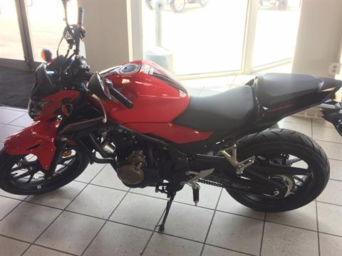 2017 Honda CB500F in Troy, Ohio