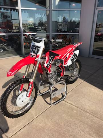2013 Honda CRF®450R in Troy, Ohio