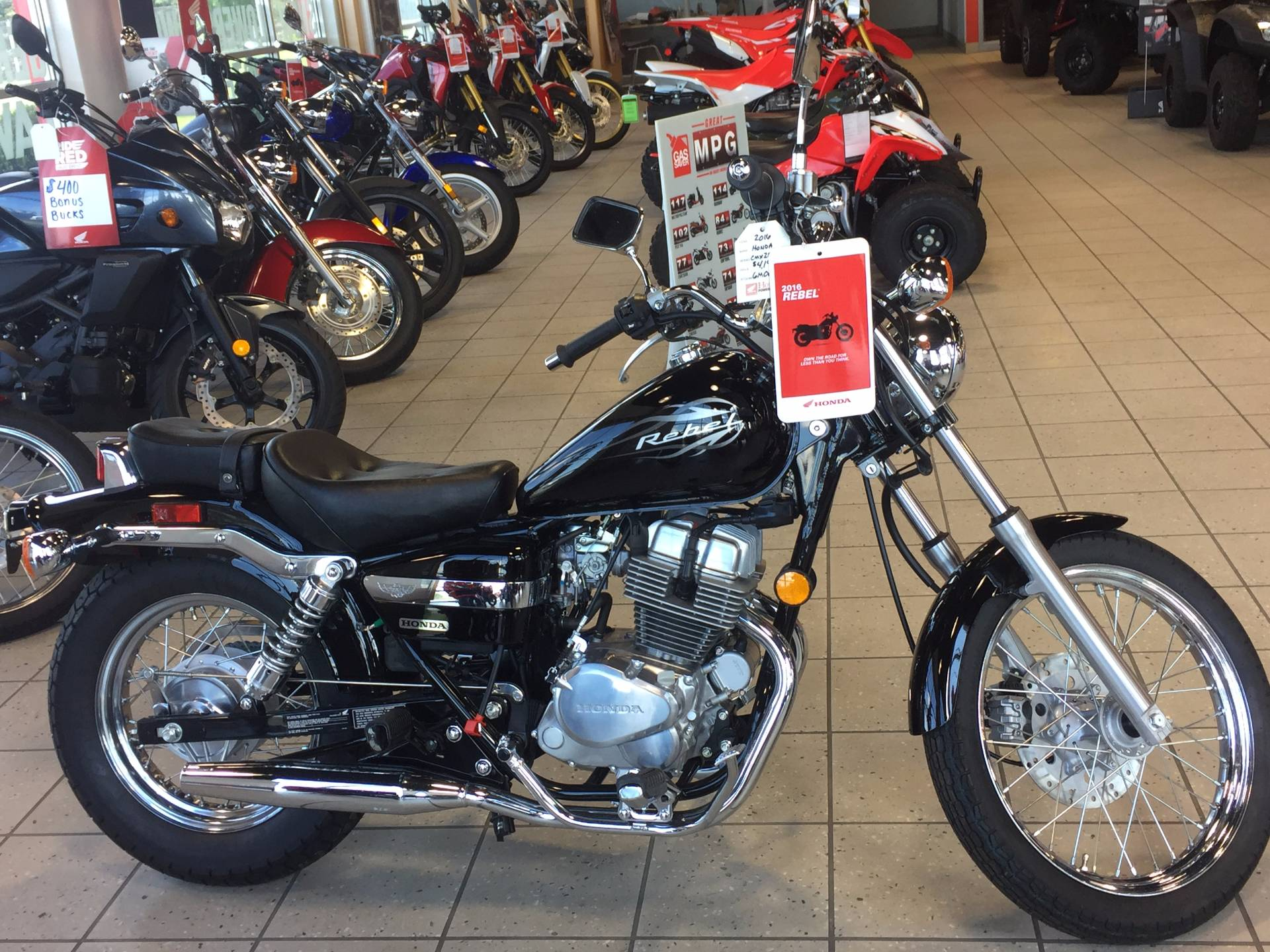 2016 Honda Rebel in Troy, Ohio