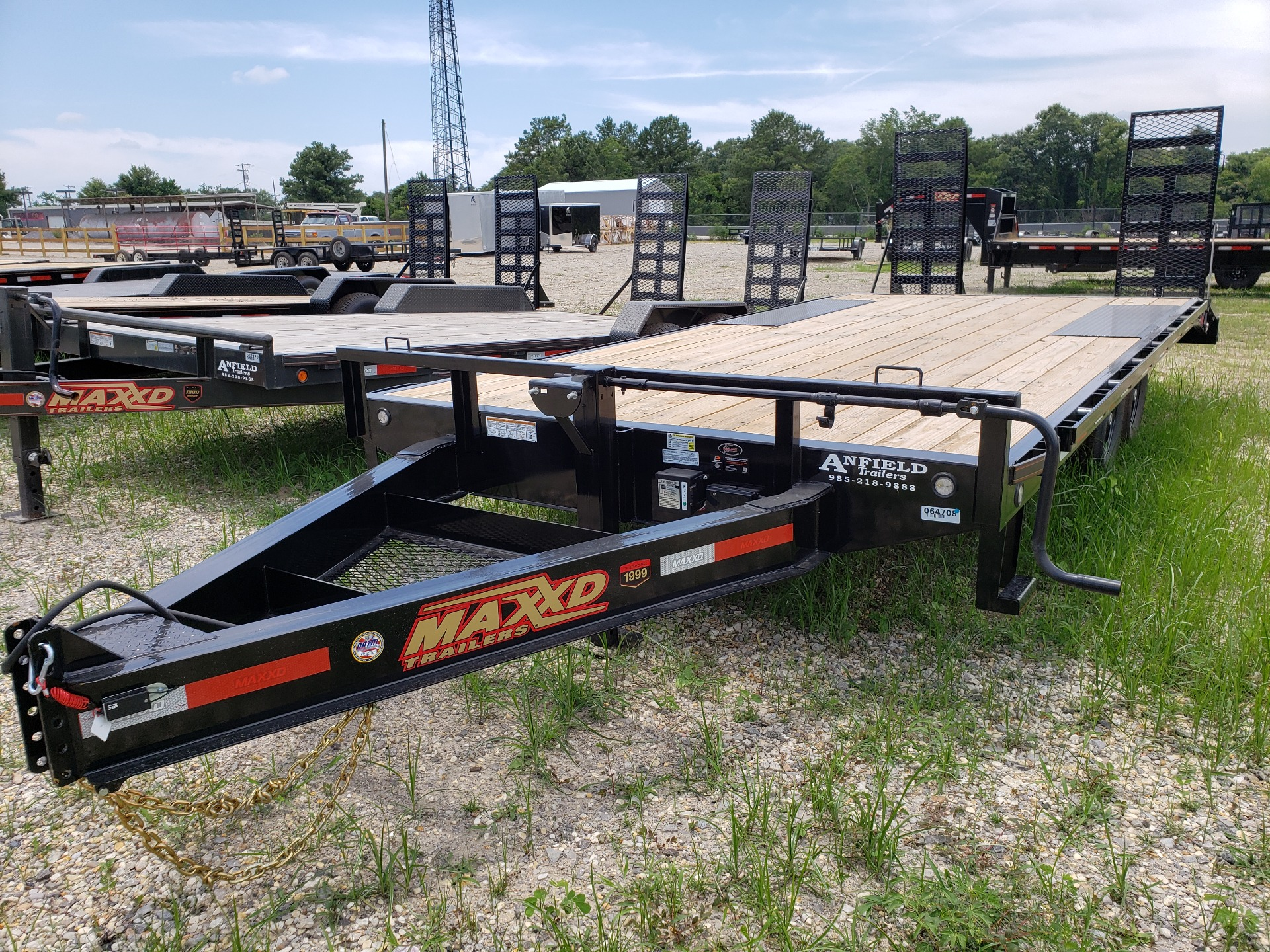 "2019 MaxxD Trailers 20' X 102"" - 14K I-Beam Deckover in Pearl River, Louisiana - Photo 1"