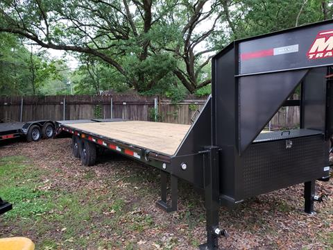 2019 MaxxD Trailers 25 X 102 MAXXD GSX Gooseneck Flatbed in Pearl River, Louisiana - Photo 1