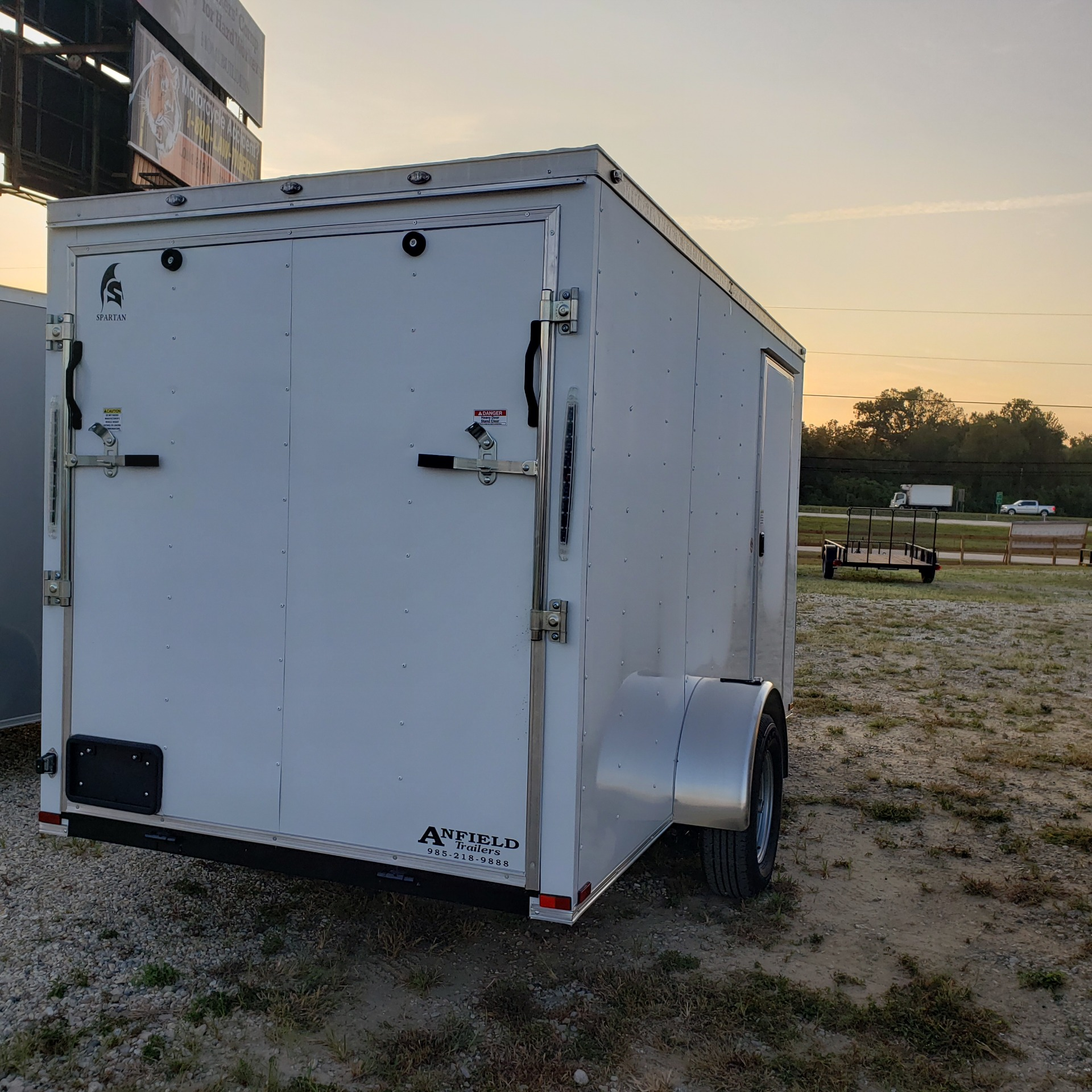 2020 Spartan Trailers 6 X 12 ENCLOSED TRAILER in Pearl River, Louisiana - Photo 3