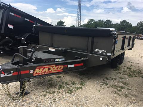 "2020 MaxxD Trailers 16'X96"" DECKOVER DUMP in Pearl River, Louisiana"