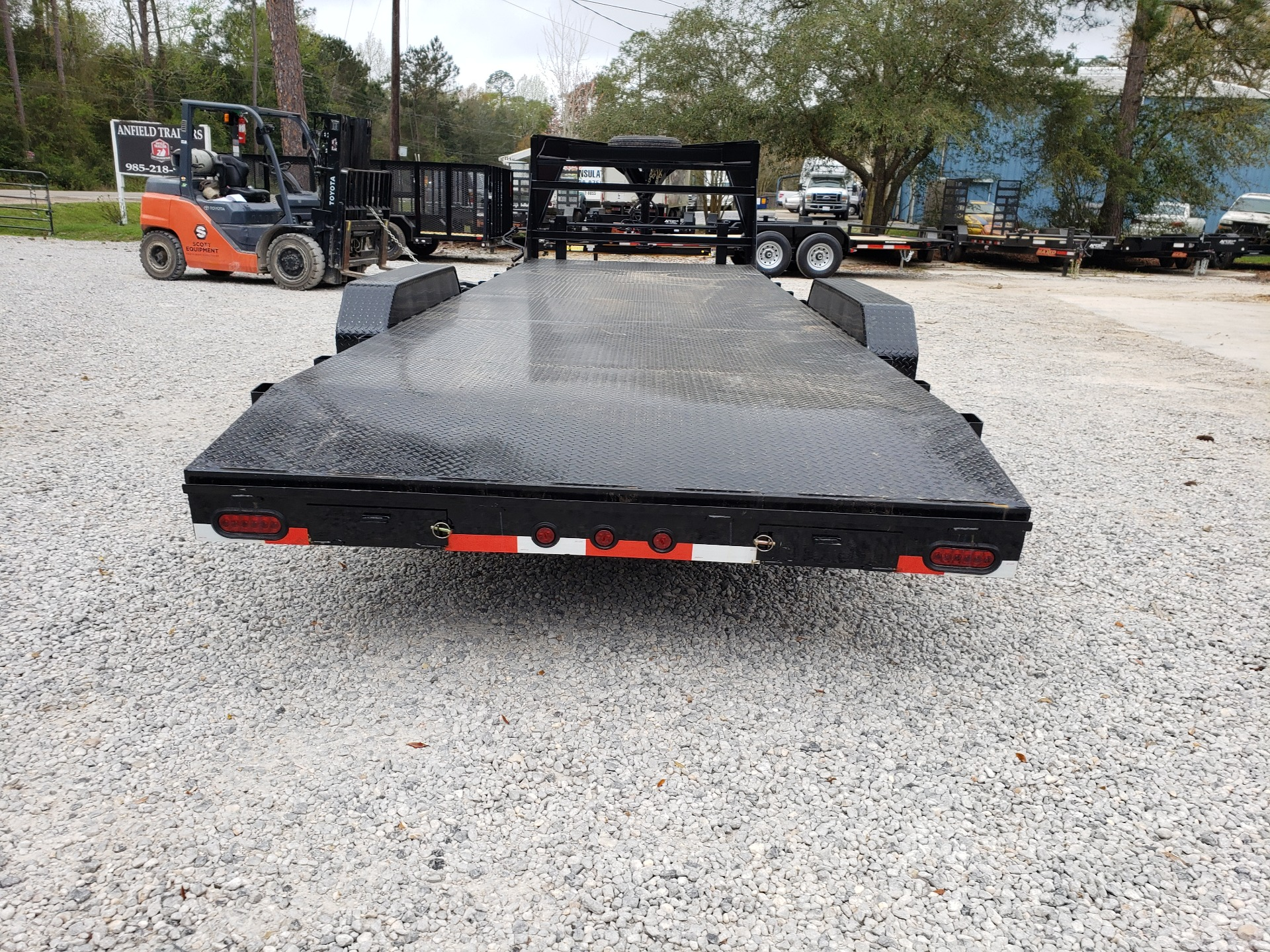 "2019 Buck Dandy 24 x 83 Gooseneck 7BCH 8"" Channel in Pearl River, Louisiana - Photo 5"