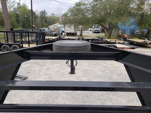 "2019 Buck Dandy 24 x 83 Gooseneck 7BCH 8"" Channel in Pearl River, Louisiana - Photo 8"