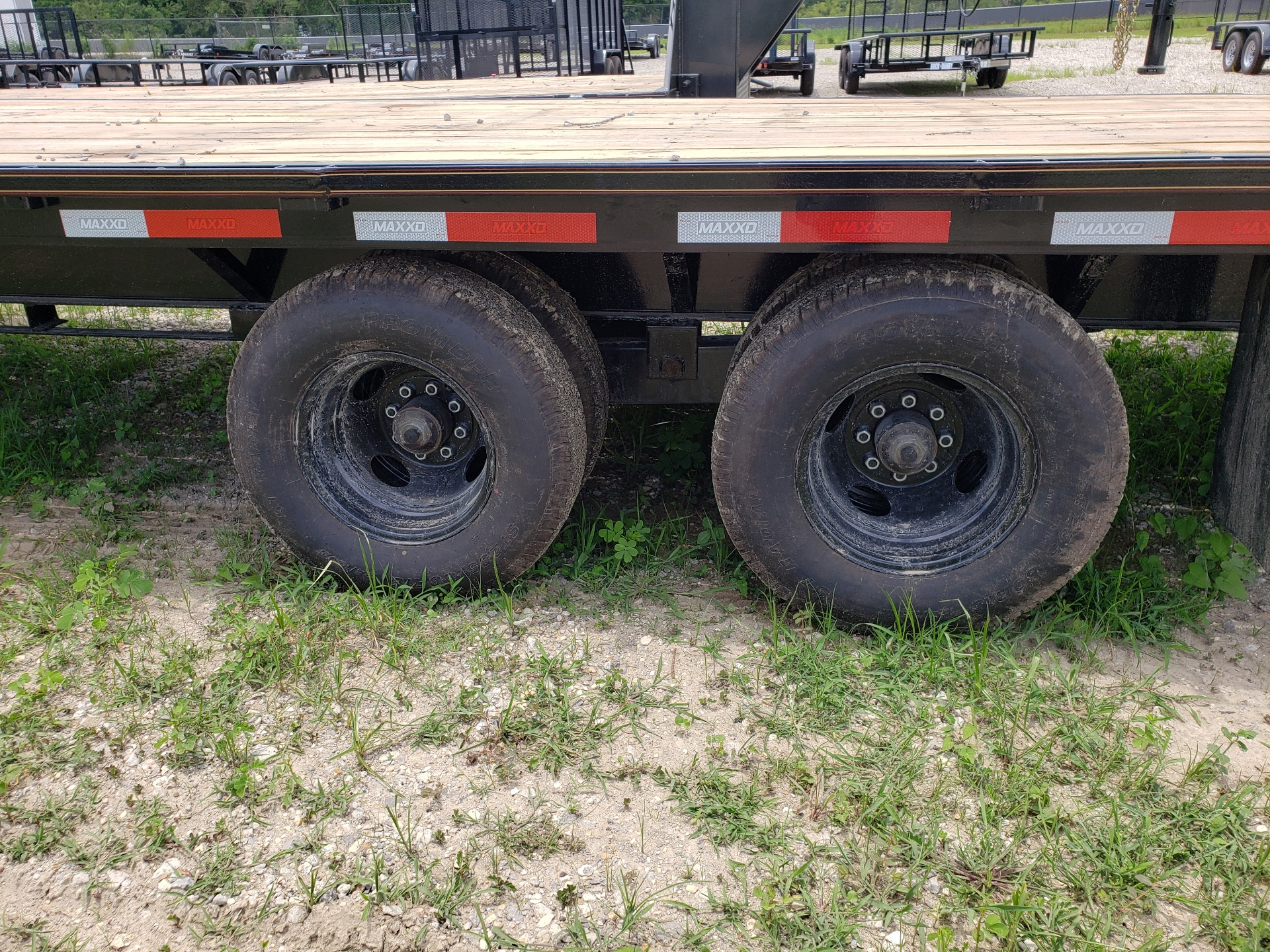 2019 MaxxD Trailers 102 x 40 Maxxd Flatbed Tandem Dual 26K in Pearl River, Louisiana - Photo 3