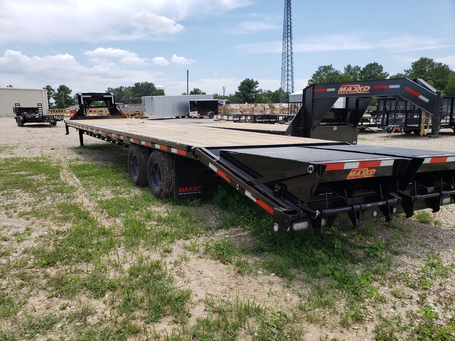 2019 MaxxD Trailers 102 x 40 Maxxd Flatbed Tandem Dual 26K in Pearl River, Louisiana - Photo 7