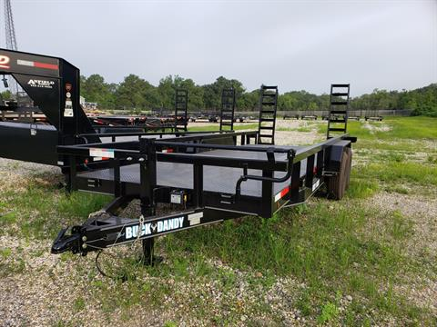 2019 Buck Dandy 20 x 83 Buck Dandy 7BBU Equipment Trailer in Pearl River, Louisiana