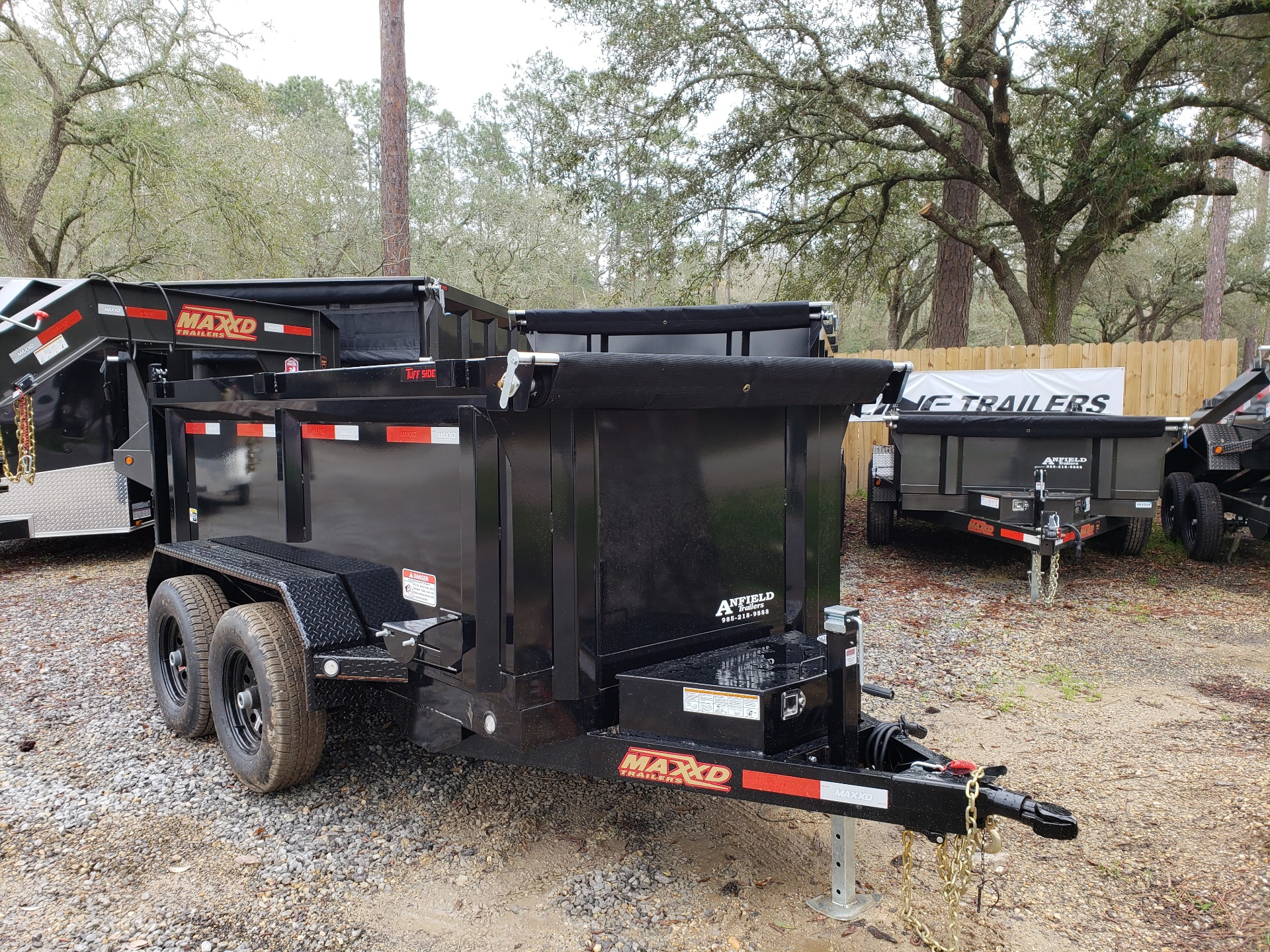 2019 MaxxD Trailers 10 x 60 Dump 3' Sides in Pearl River, Louisiana - Photo 1