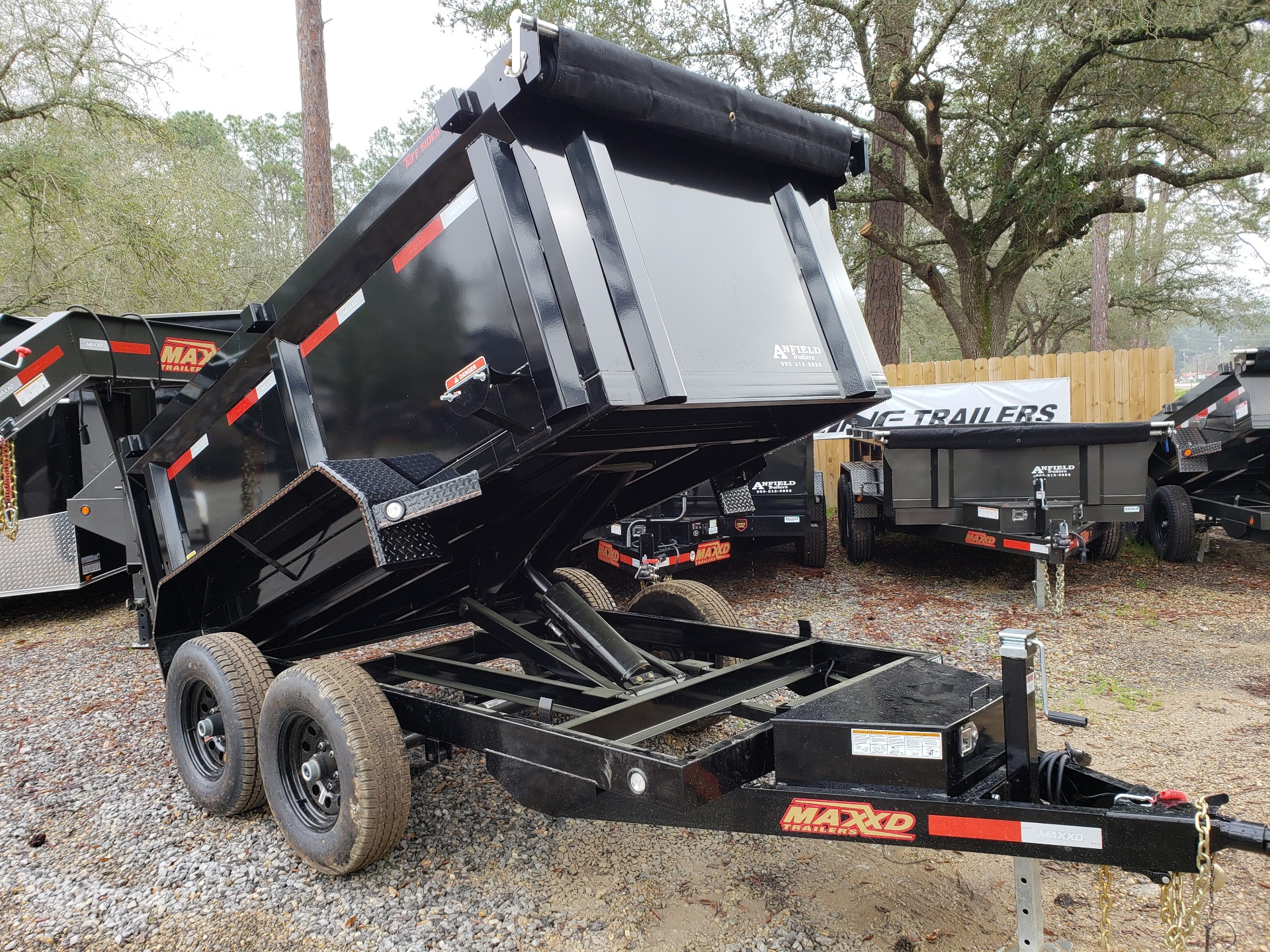 2019 MaxxD Trailers 10 x 60 Dump 3' Sides in Pearl River, Louisiana - Photo 9