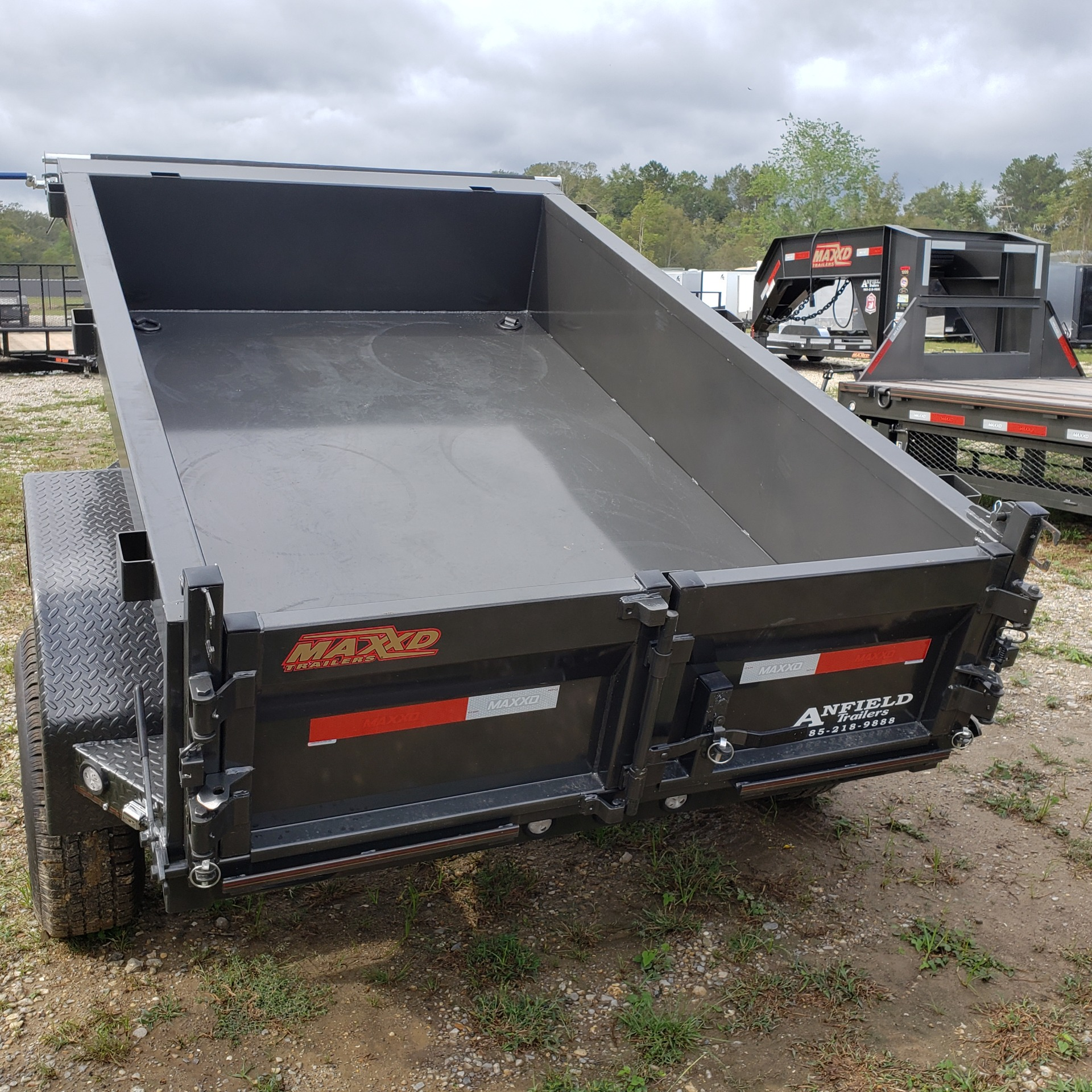 "2020 MaxxD Trailers 8' X 60"" -MAXXD 60"" DUMP in Pearl River, Louisiana - Photo 4"
