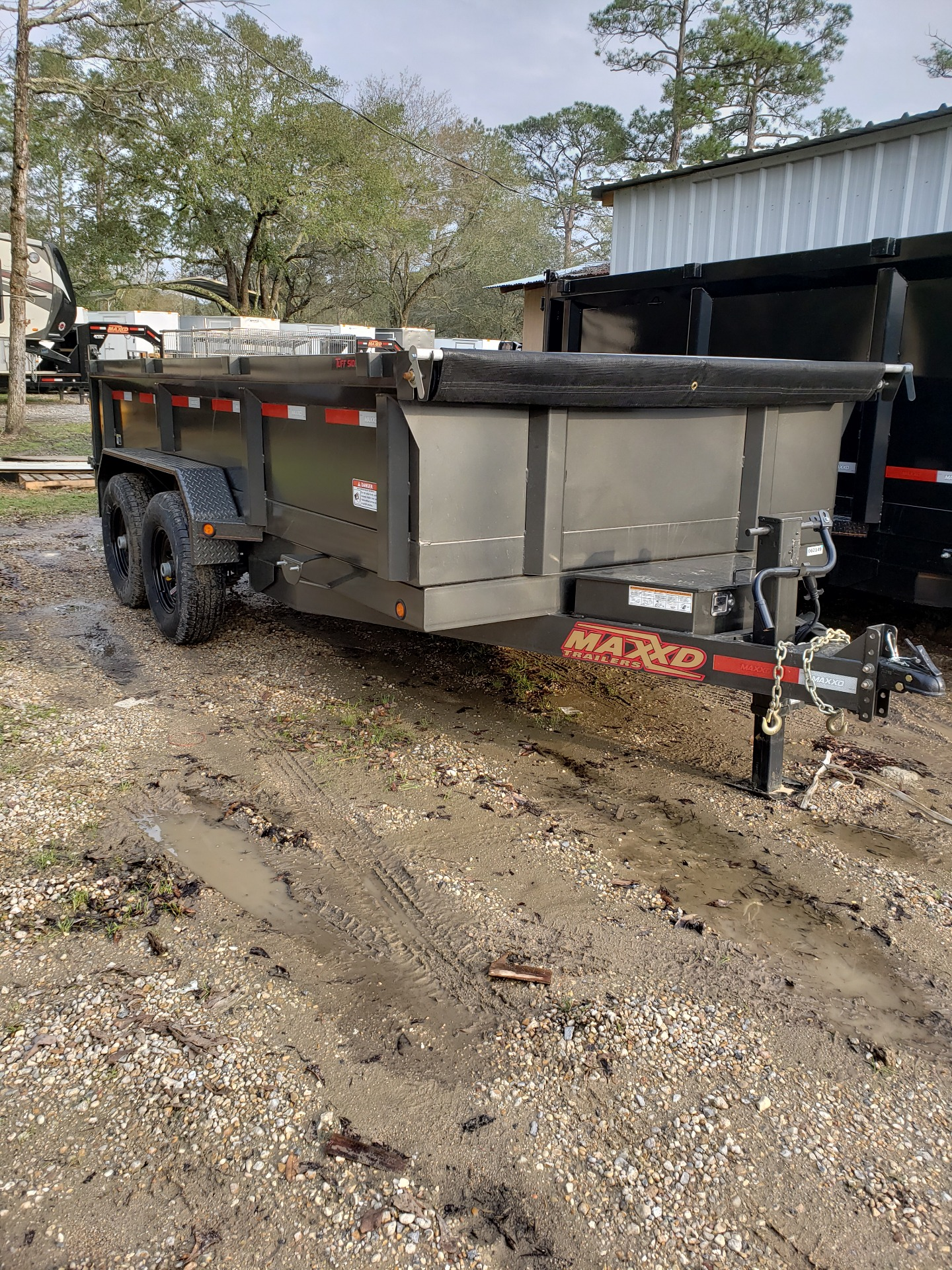 2019 MaxxD Trailers 14 x 83 HD Dump in Pearl River, Louisiana - Photo 1