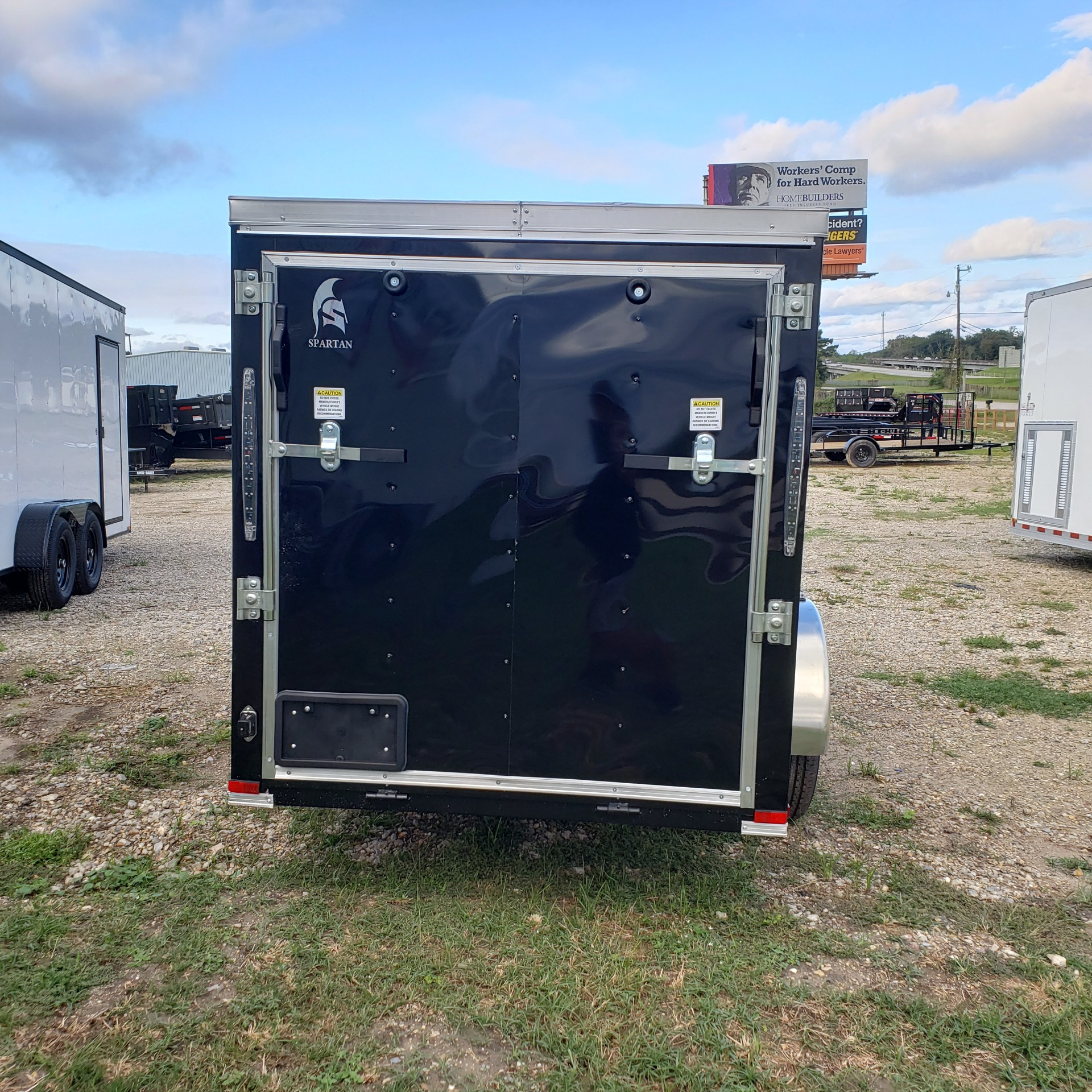 2020 Spartan Trailers 5 X 10 SPARTAN ENCLOSED TRAILER in Pearl River, Louisiana - Photo 2
