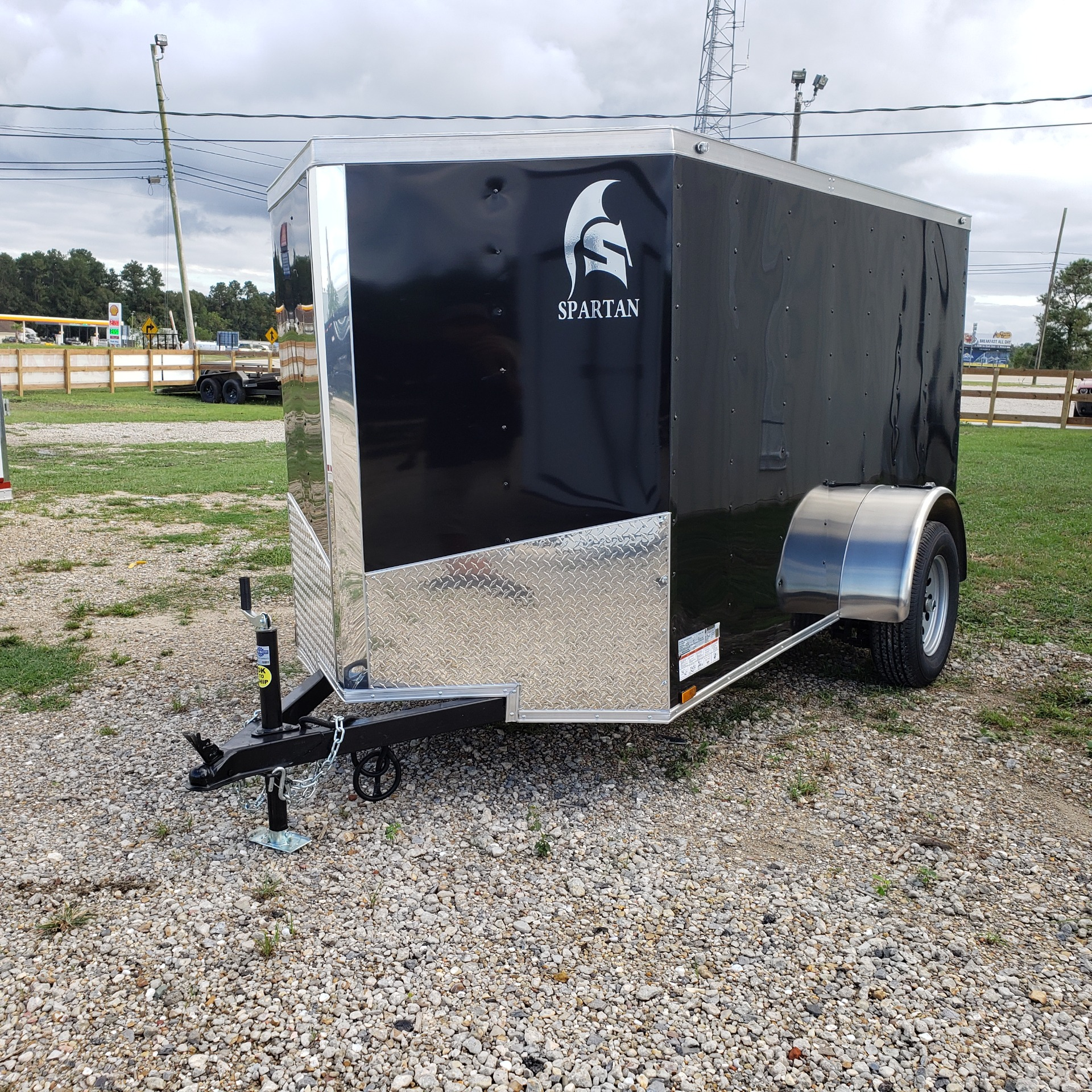 2020 Spartan Trailers 5 X 10 SPARTAN ENCLOSED TRAILER in Pearl River, Louisiana - Photo 1