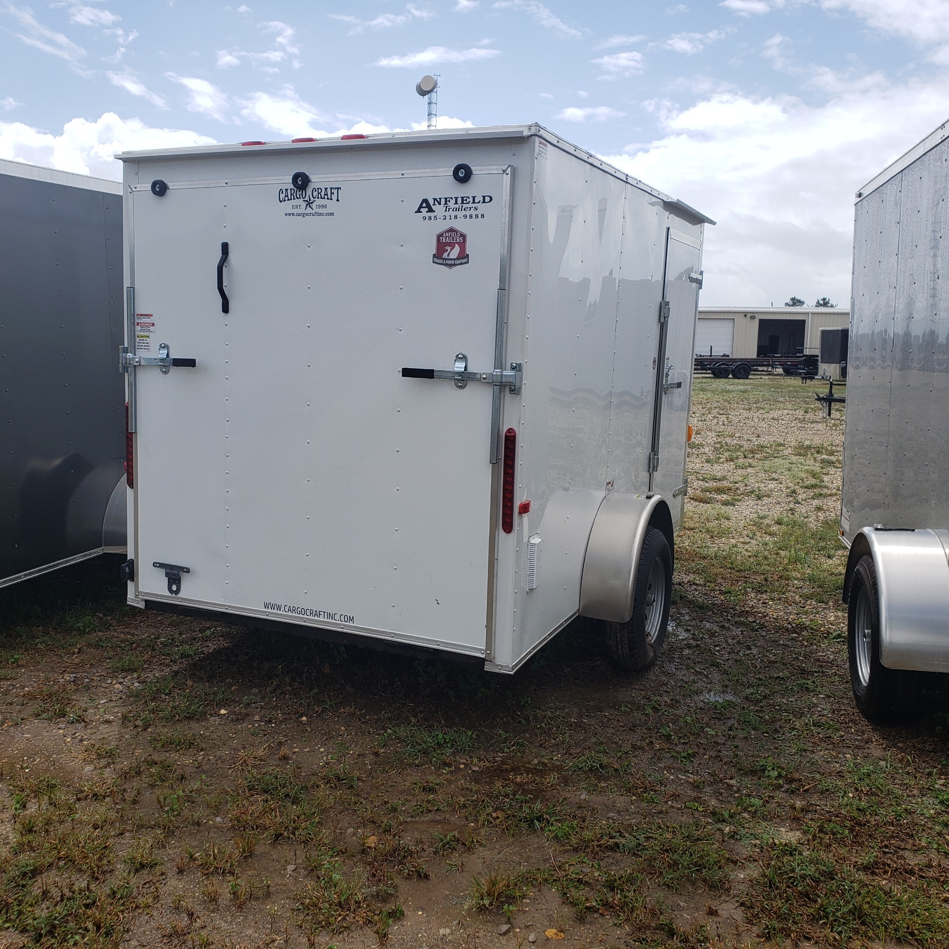 2020 Cargo Craft Trailers 6 x 12 RANGER VECTOR in Pearl River, Louisiana - Photo 2