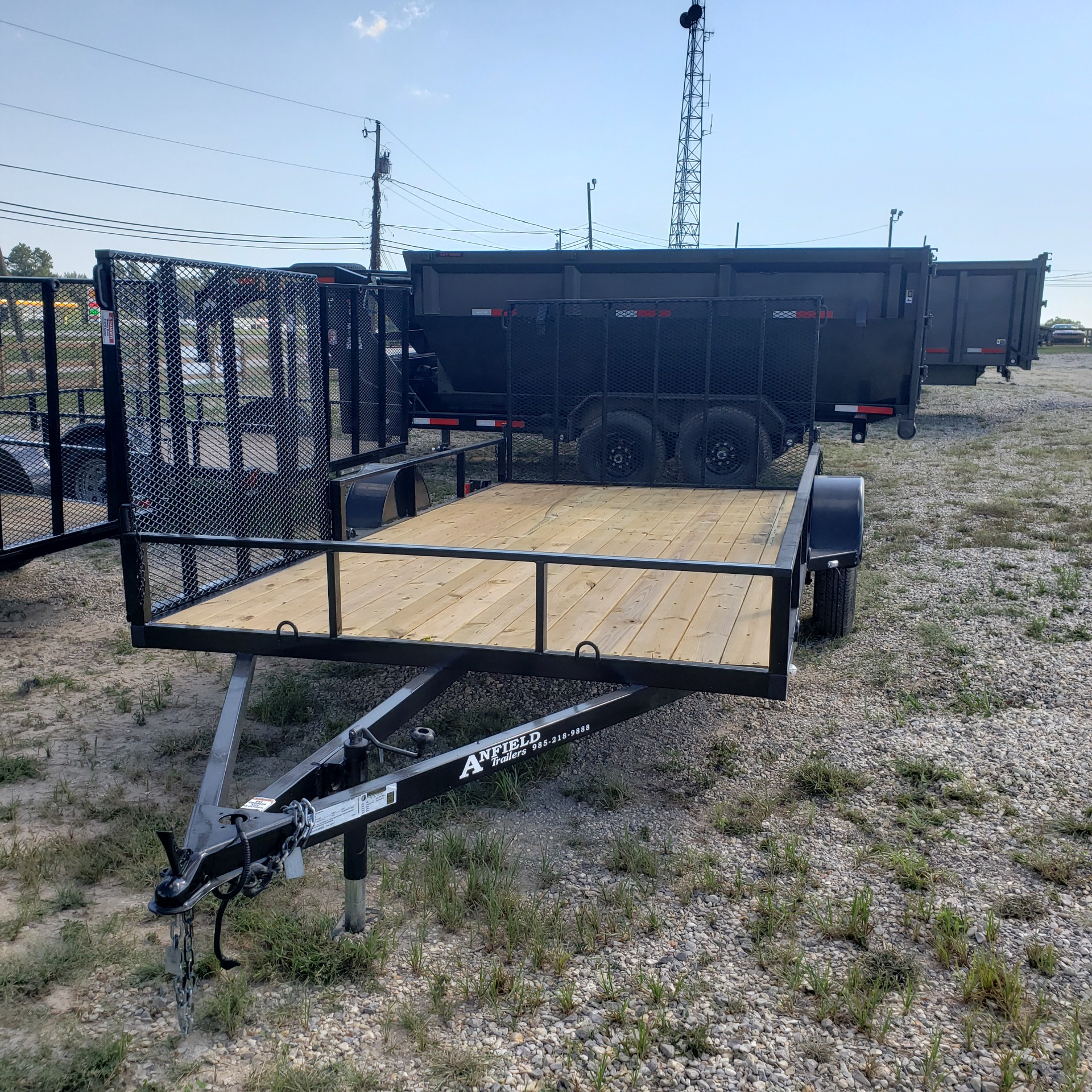 2020 Cargo Craft Trailers 7 X 14 UTILITY in Pearl River, Louisiana - Photo 1