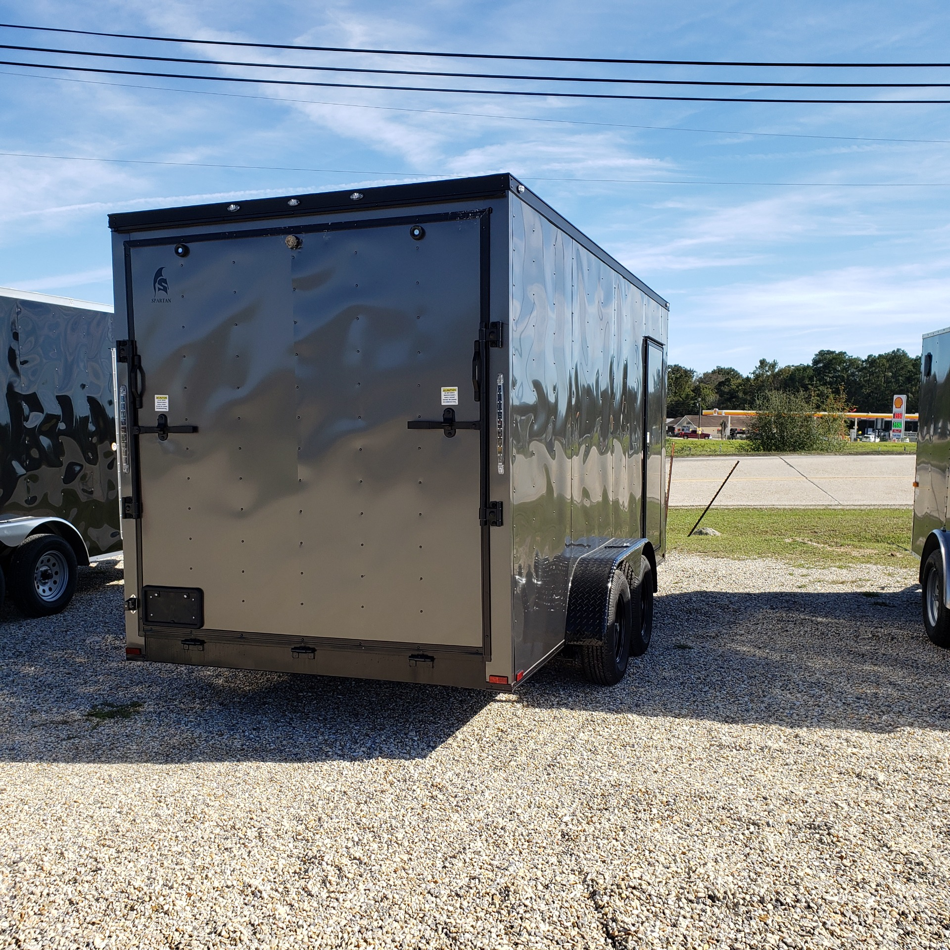 2020 Spartan Trailers SPARTAN 7 X 16 TANDEM AXLE in Pearl River, Louisiana - Photo 2