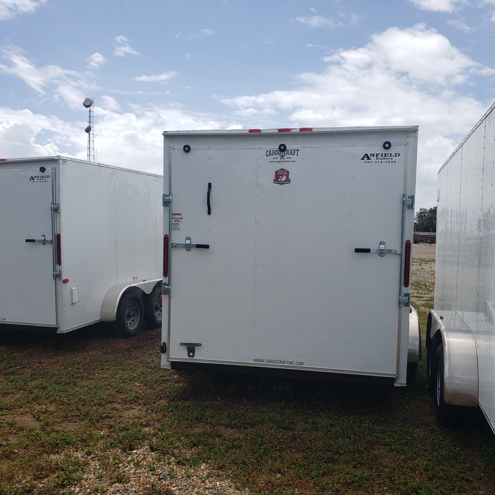 2020 Cargo Craft Trailers 7 X 16 RANGER VECTOR in Pearl River, Louisiana - Photo 2