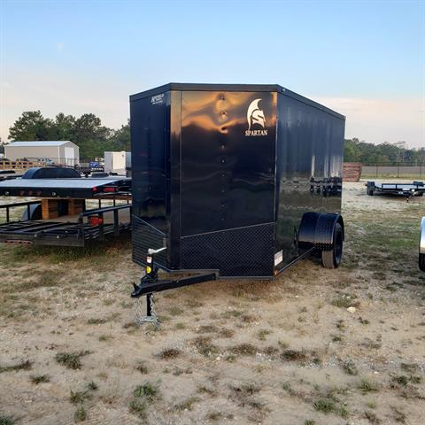 2020 Spartan Trailers 6 X 12 ENCLOSED TRAILER in Pearl River, Louisiana - Photo 4