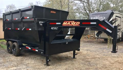 2019 MaxxD Trailers 14 x 83 14K Gooseneck Roll-Off in Pearl River, Louisiana - Photo 1
