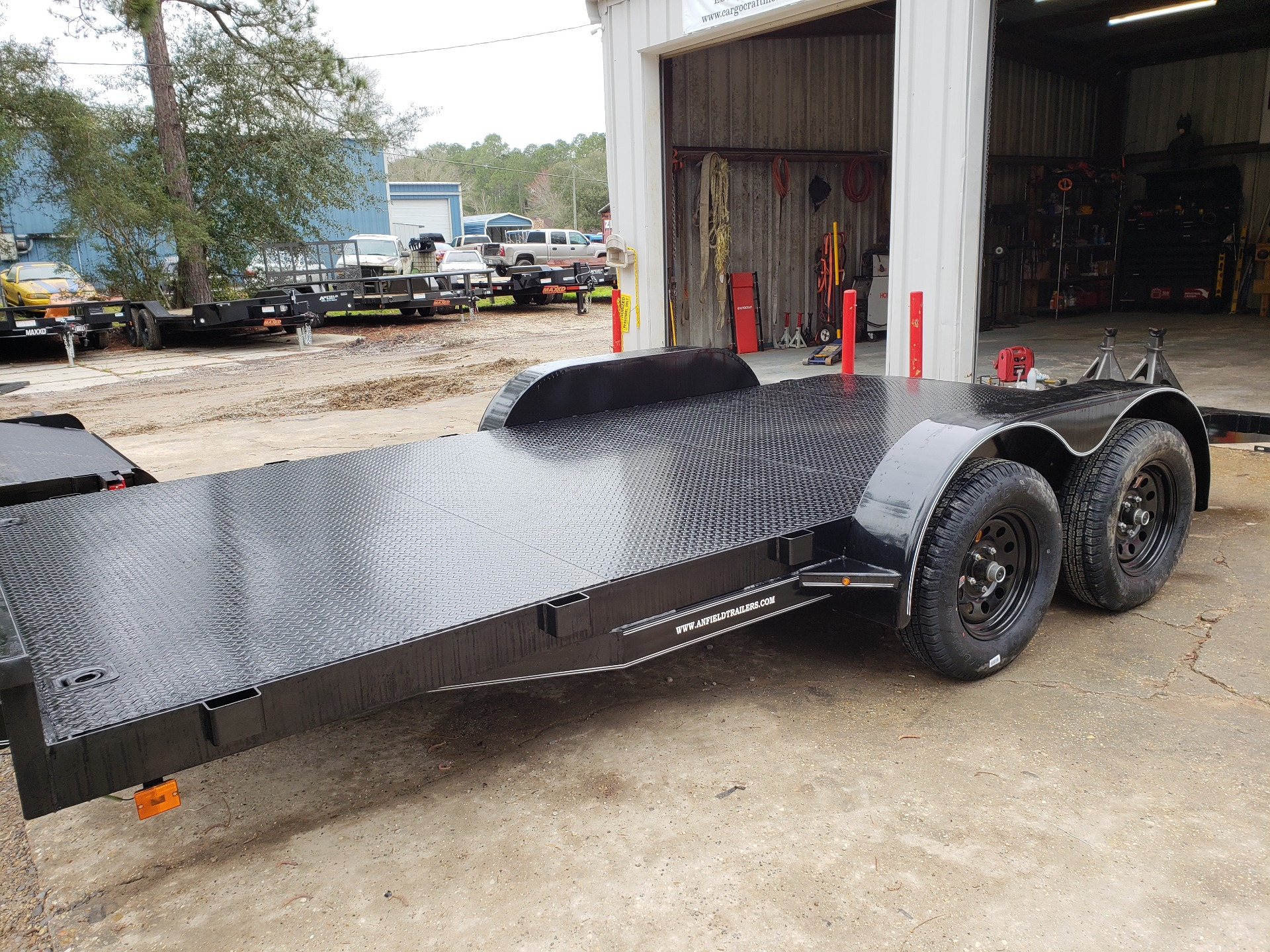 2019 MaxxD Trailers 16 x 83 WS Channel Carhauler in Pearl River, Louisiana - Photo 2