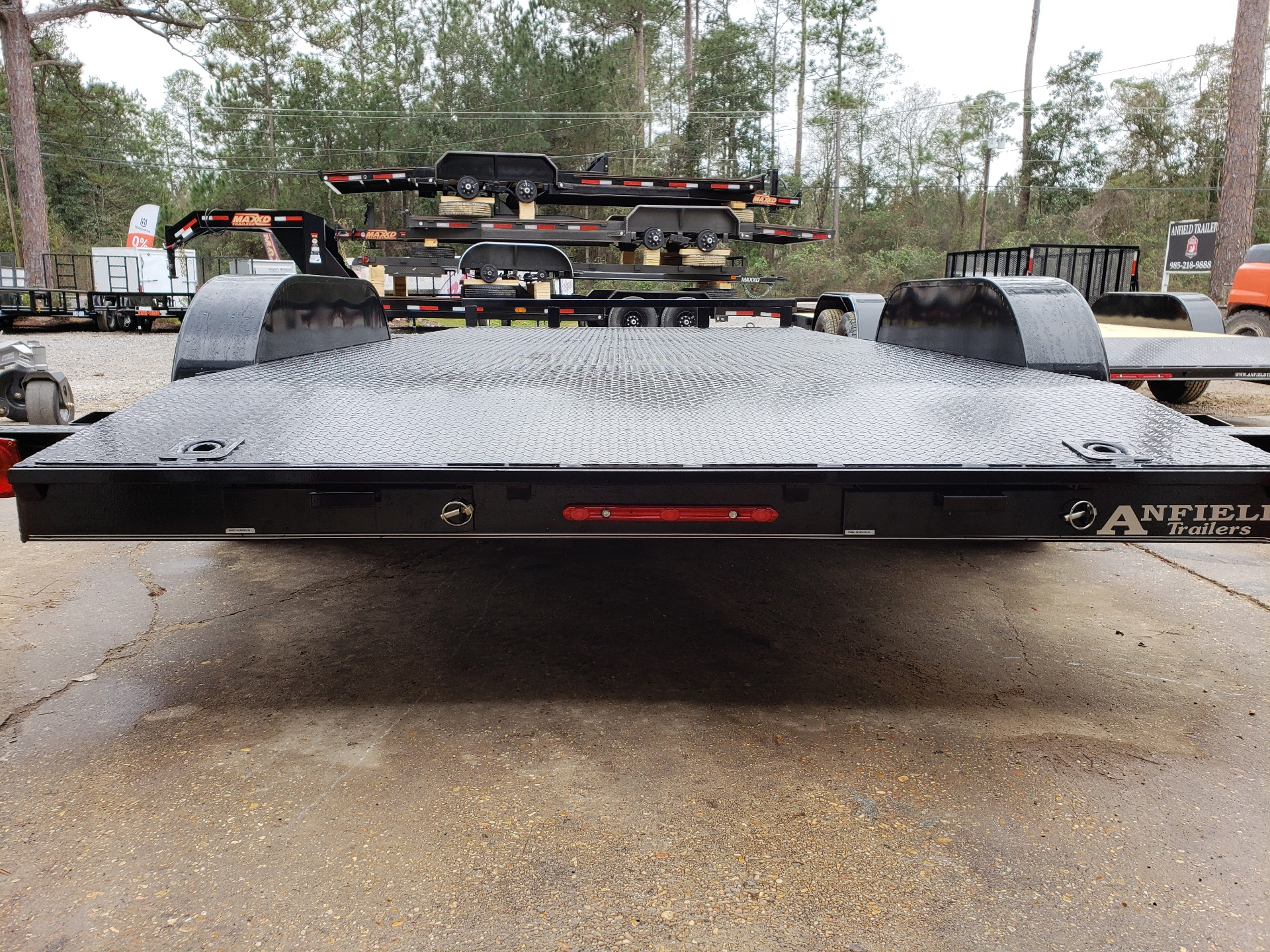2019 MaxxD Trailers 16 x 83 WS Channel Carhauler in Pearl River, Louisiana - Photo 3