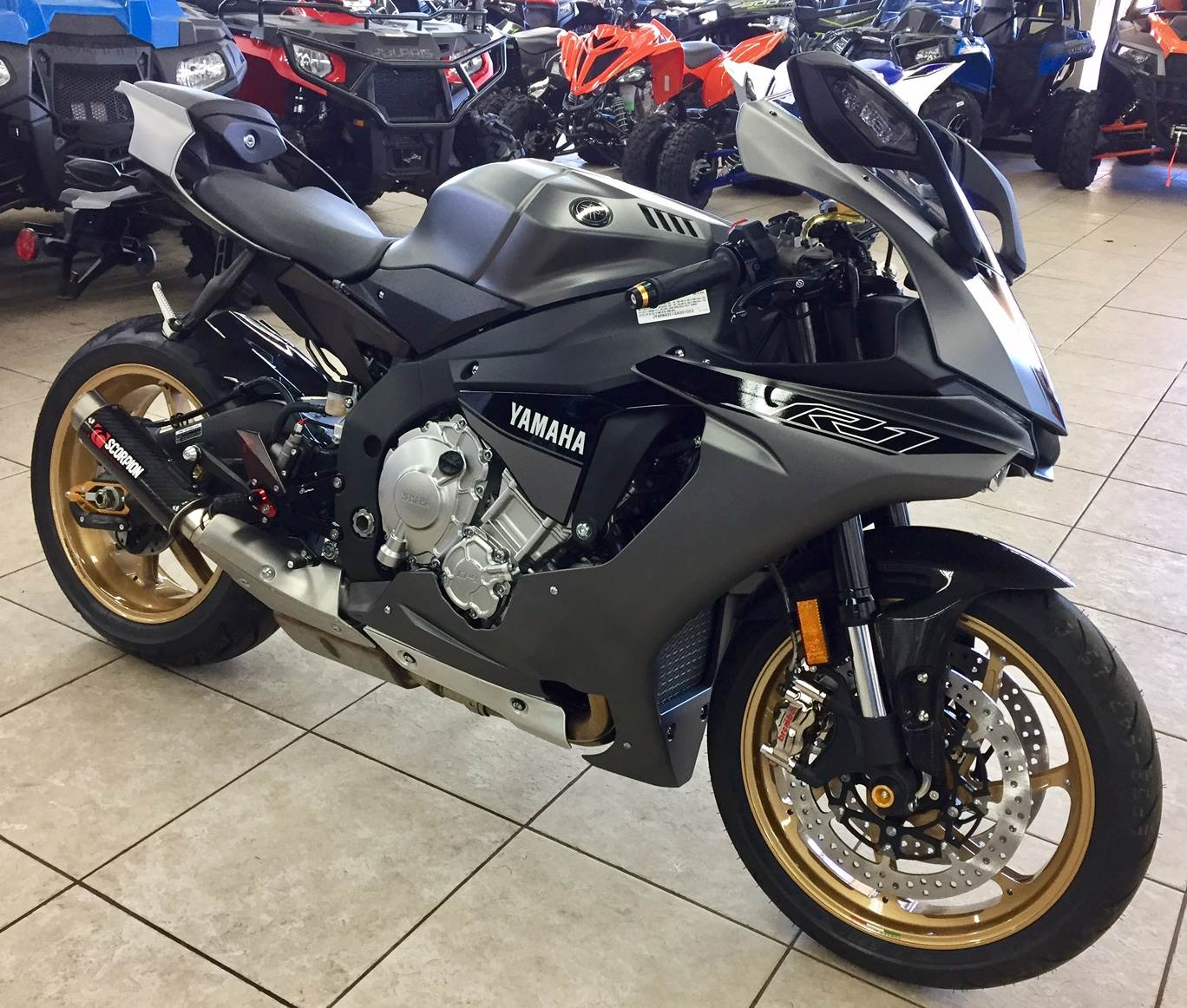 New 2016 yamaha yzf r1s motorcycles in lowell nc stock for 2016 yamaha r1s