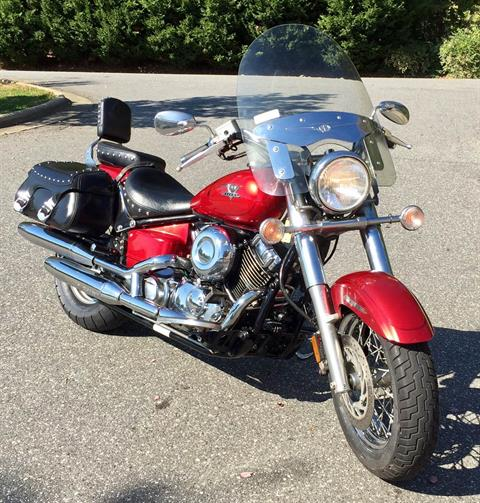 2009 Yamaha V Star 650 Silverado in Lowell, North Carolina