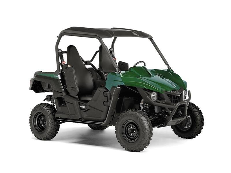 2016 Yamaha Wolverine R-Spec EPS Hunter Green in Lowell, North Carolina