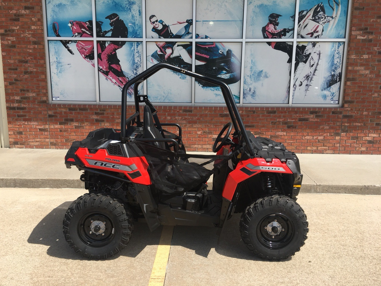 New 2018 Polaris Ace 500 Atvs In Omaha Ne Stock Number N A