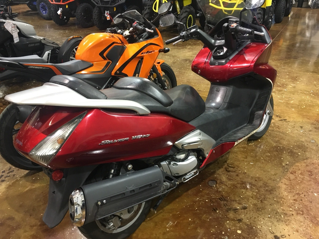 2003 Honda Silver Wing in Omaha, Nebraska - Photo 4