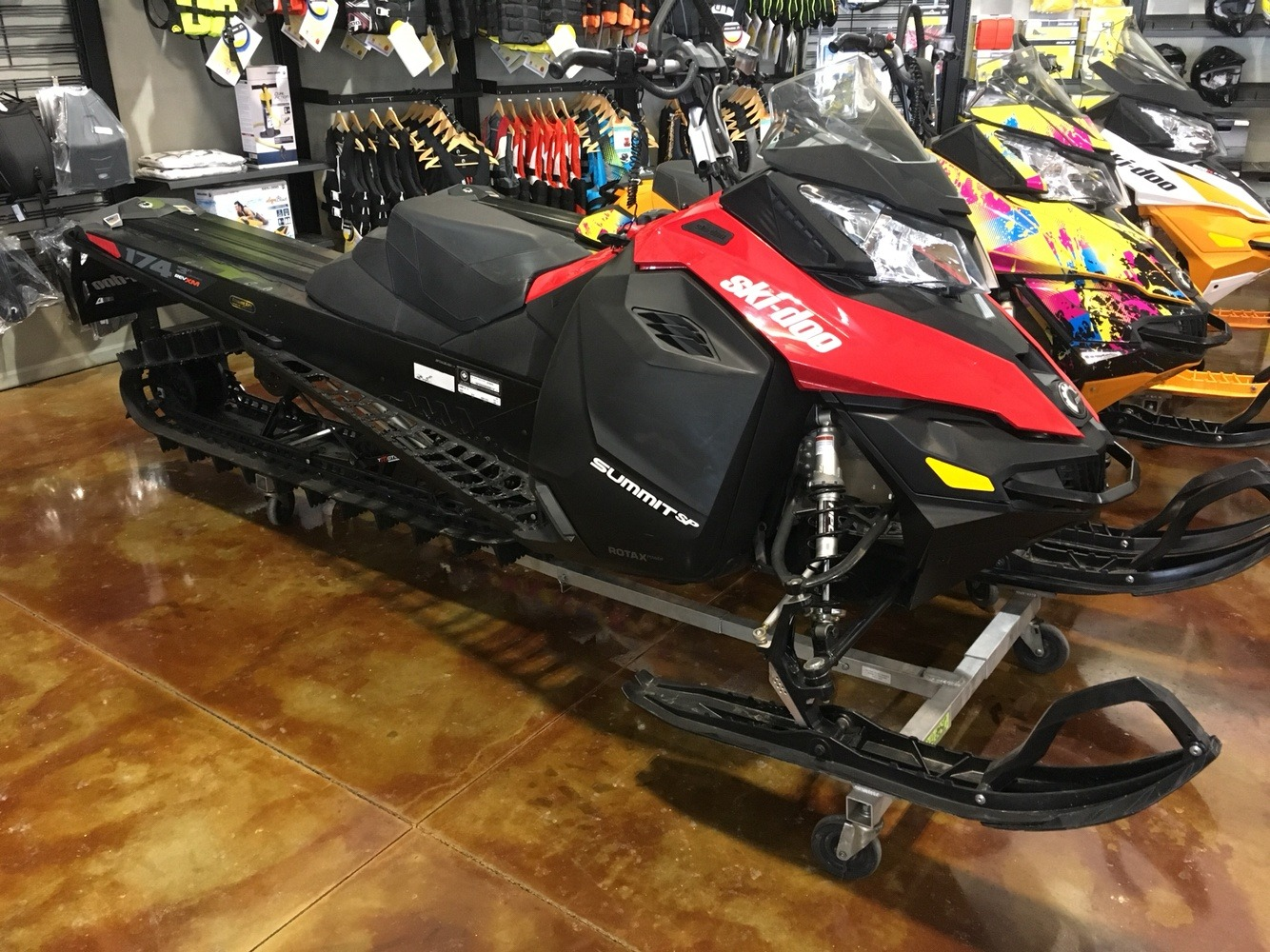 "2016 Ski-Doo Summit SP T3 174 800R E-TEC E.S., PowderMax 3.0"" in Omaha, Nebraska - Photo 1"