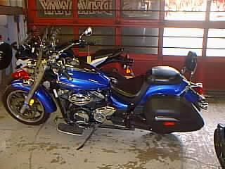 2012 Yamaha XVS95CTBL in Spencerport, New York