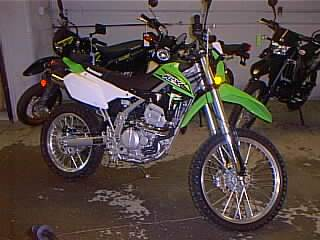 2018 Kawasaki KLX250SJF in Spencerport, New York