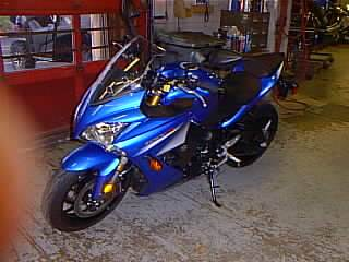 2016 Suzuki GSXS1000FAL6 in Spencerport, New York