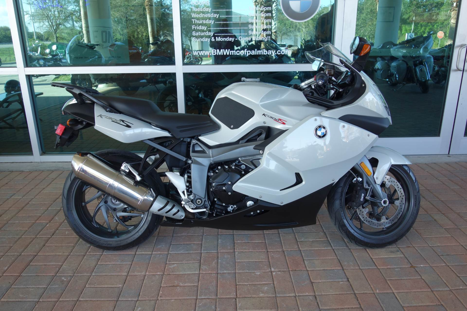 Used 2009 Bmw K 1300 S Light Grey Metallic Motorcycles In Palm Bay